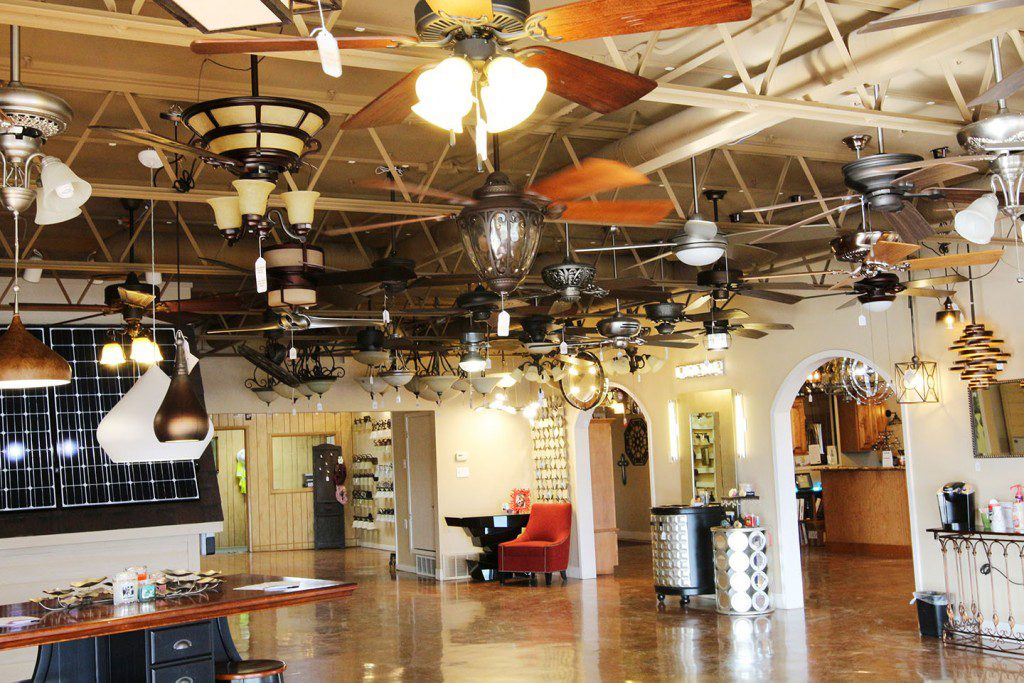 Amos Electric Lighting Showroom- Temple, Central Texas